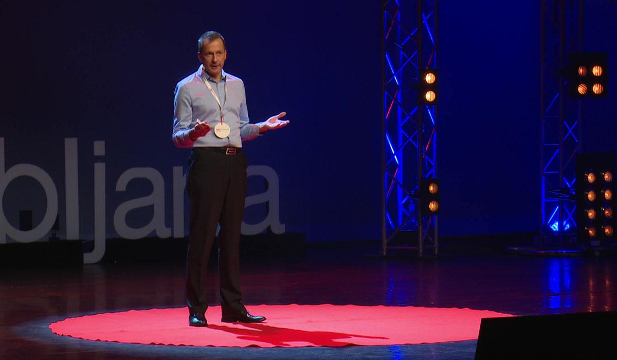 Emil Marinšek na Tedx
